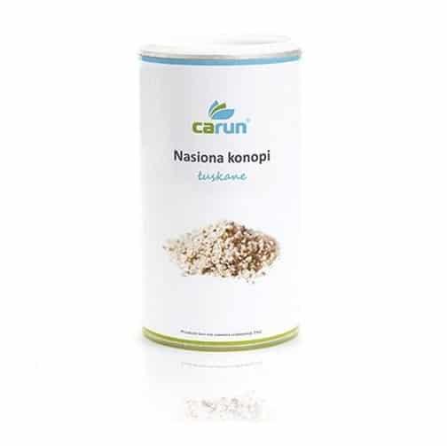 Nasiona z konopi łuskane 500 g