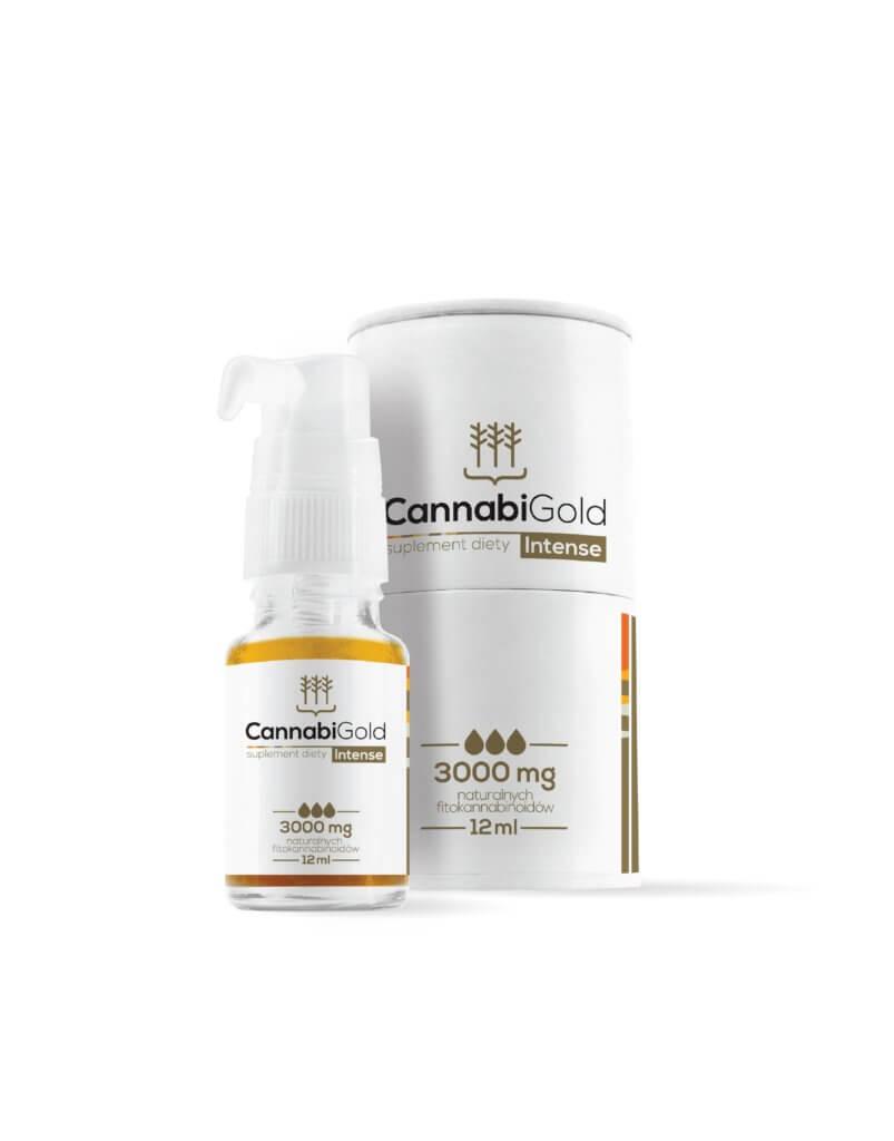 OLEJ CBD 30 % CANNABIGOLD INTENSE 3000 mg