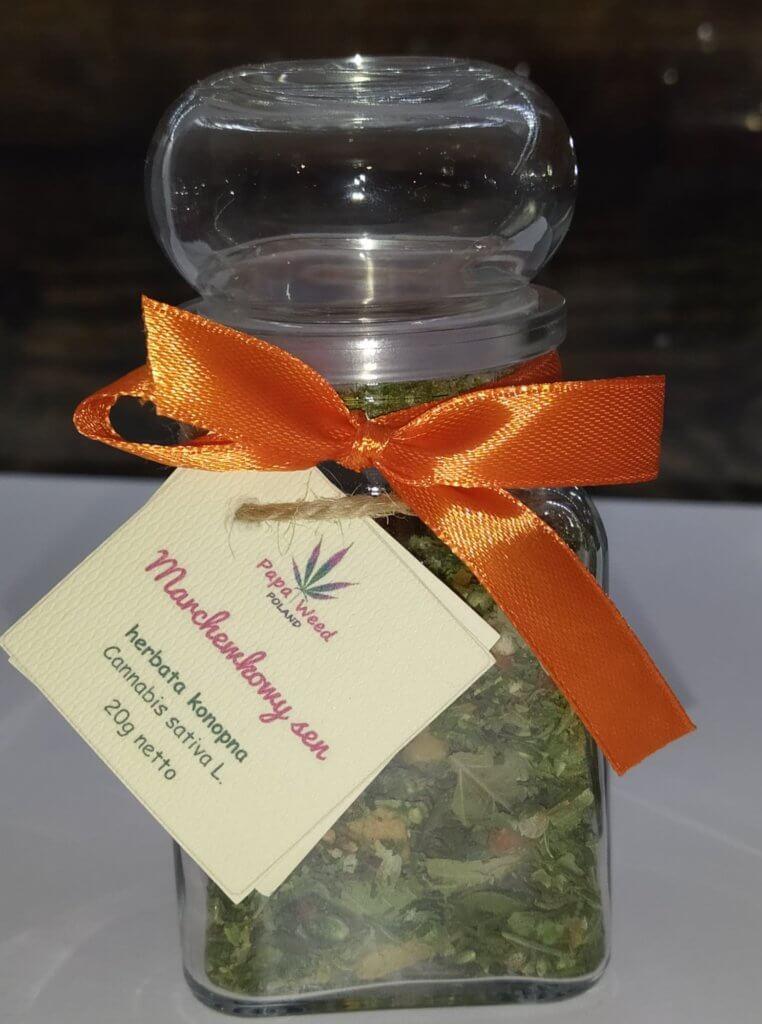 Herbatka konopna – Marchewkowy sen